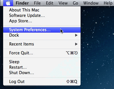 Safari System Preferences