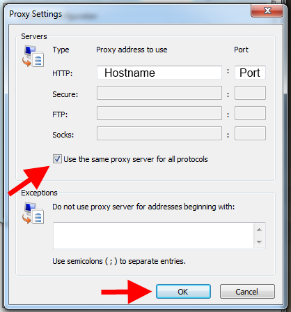 how to enable proxy settings on utorrent