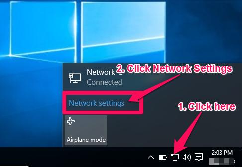 Manual Setup for Windows 10 (PPTP) | FoxyProxy Help
