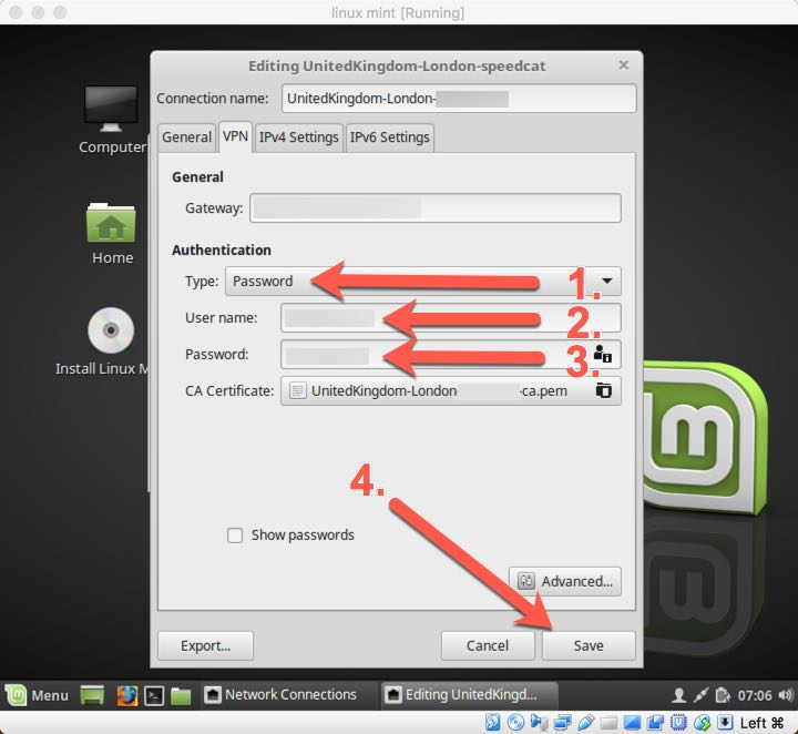 Setup for Linux Mint (OpenVPN) | FoxyProxy Help